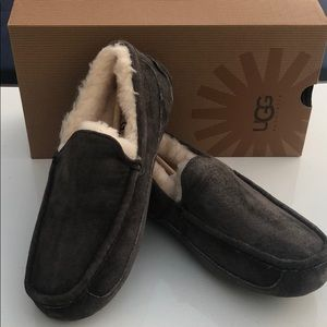 ❤️SALE New Ugg Ascot Charcoal moccasin Suede  SZ 7